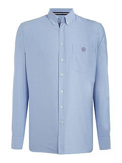 100% cotton washed oxford shirt