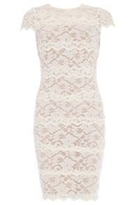 Banded Lace Dress