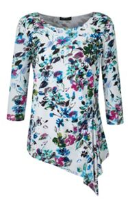 Grace Plus Size floral tunic