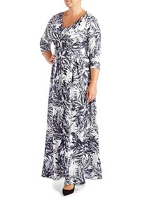 Grace Plus Size Made in Britain maxi dress