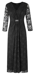 Plus size Lace Maxi