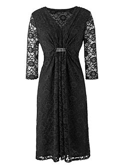 Made in Britain Lace Midi