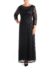 Grace Plus size Maxi Dress