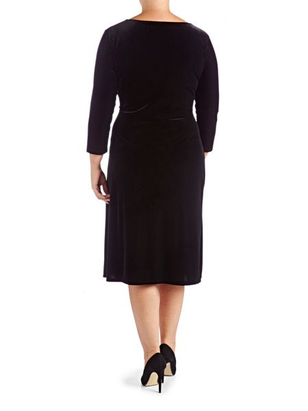 Grace Made In Britain Velour Dress