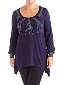 Grace Made In Britain Studded Tunic