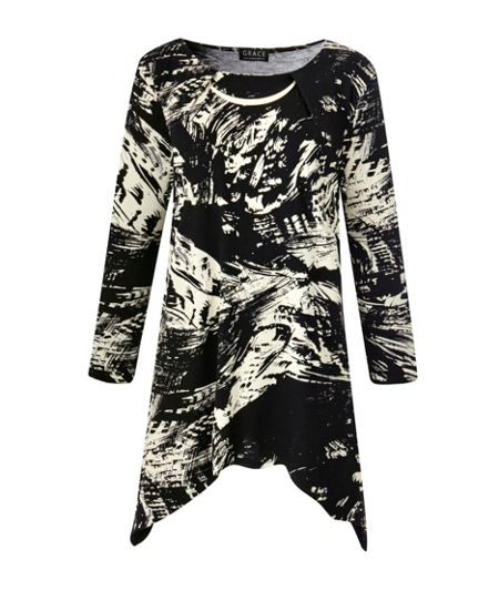 Grace Made In Britain Print Tunic