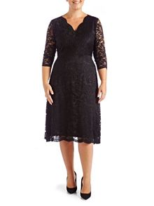Grace Made In Britain Lace Midi