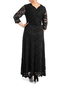 Grace Plus Size Made In Britain Lace Maxi