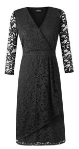 Plus Size Made In Britain Lace Dress