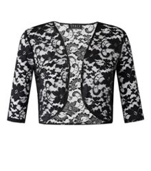 Plus size Made in Britain bolero