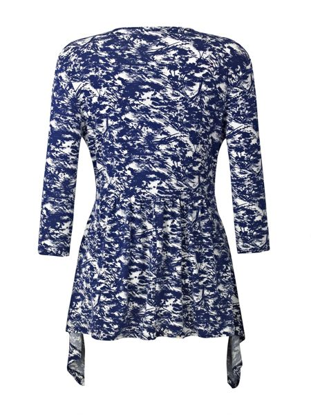 Grace Made In Britain Print Tunic Top