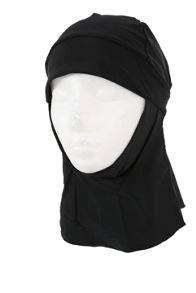 Shorso UK Black sports hijab