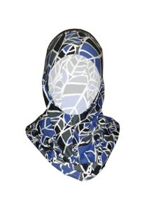Shorso UK Patterned sports hijab