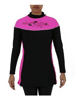 Burkini sports swim top