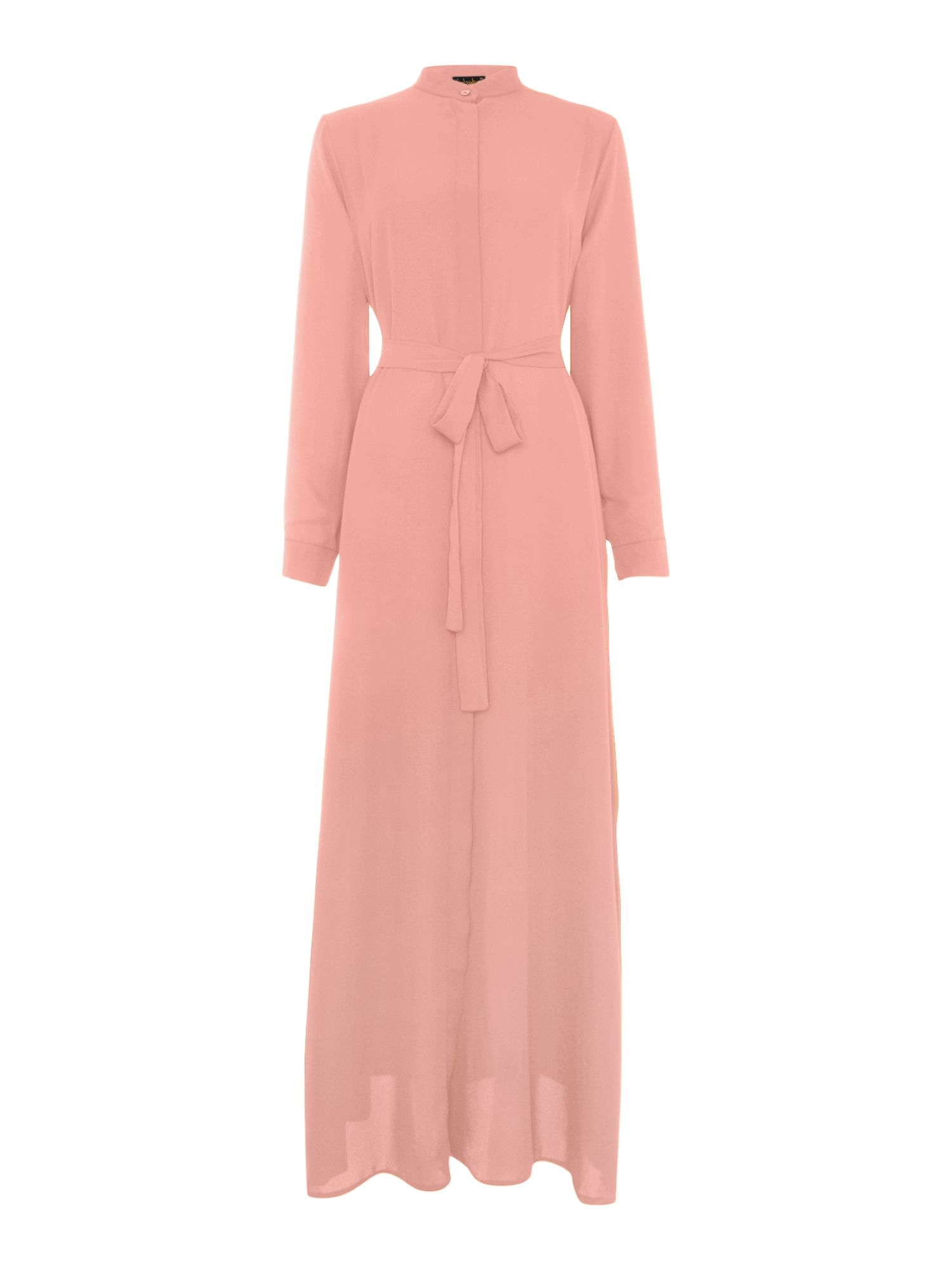 Shorso Maxi shirt dress, Pink