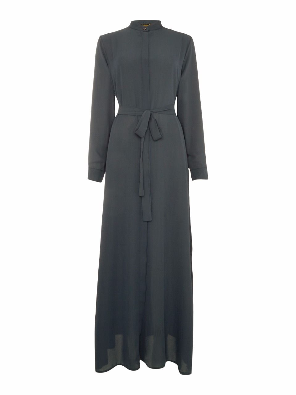 Shorso Maxi shirt dress, Charcoal