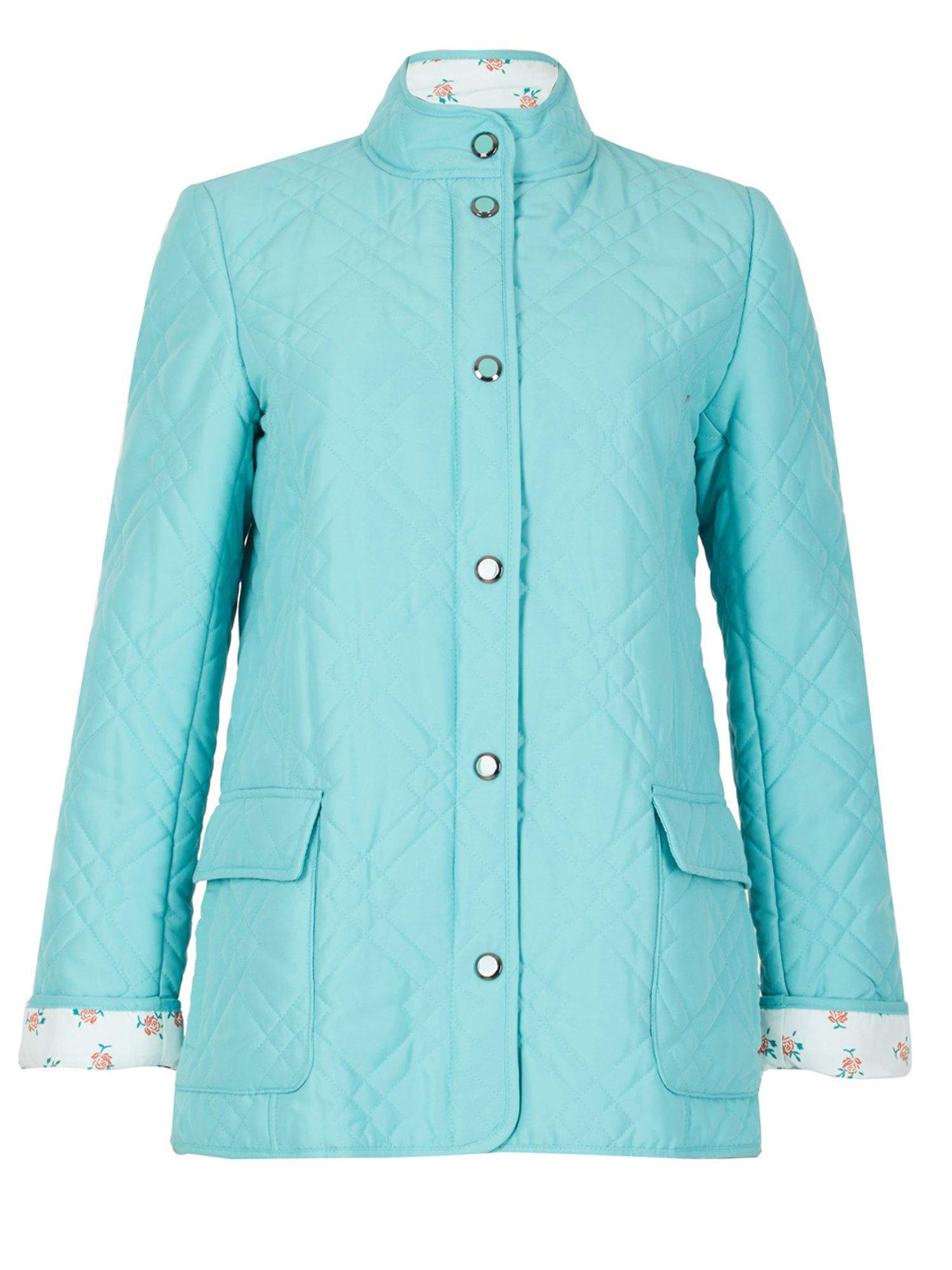 David Barry Light Weight Microfibre Quilted Jacket, Emerald