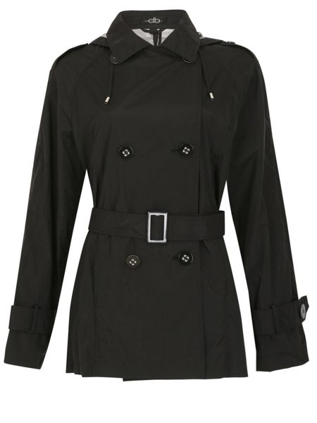 David Barry Memory Fabric Trench Rain Jacket