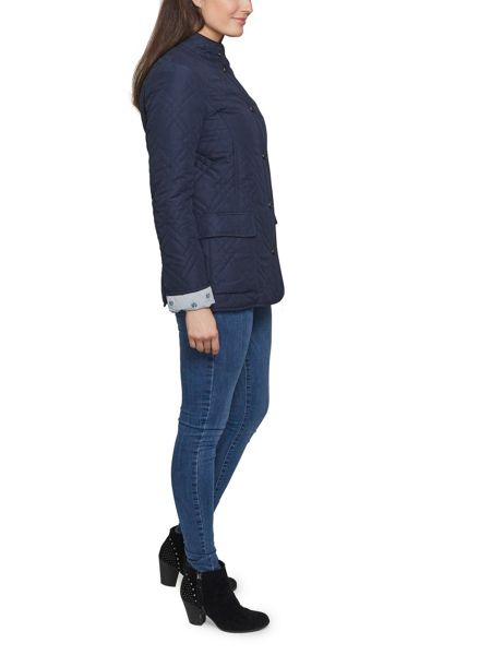 David Barry Light Weight Microfibre Quilted Jacket