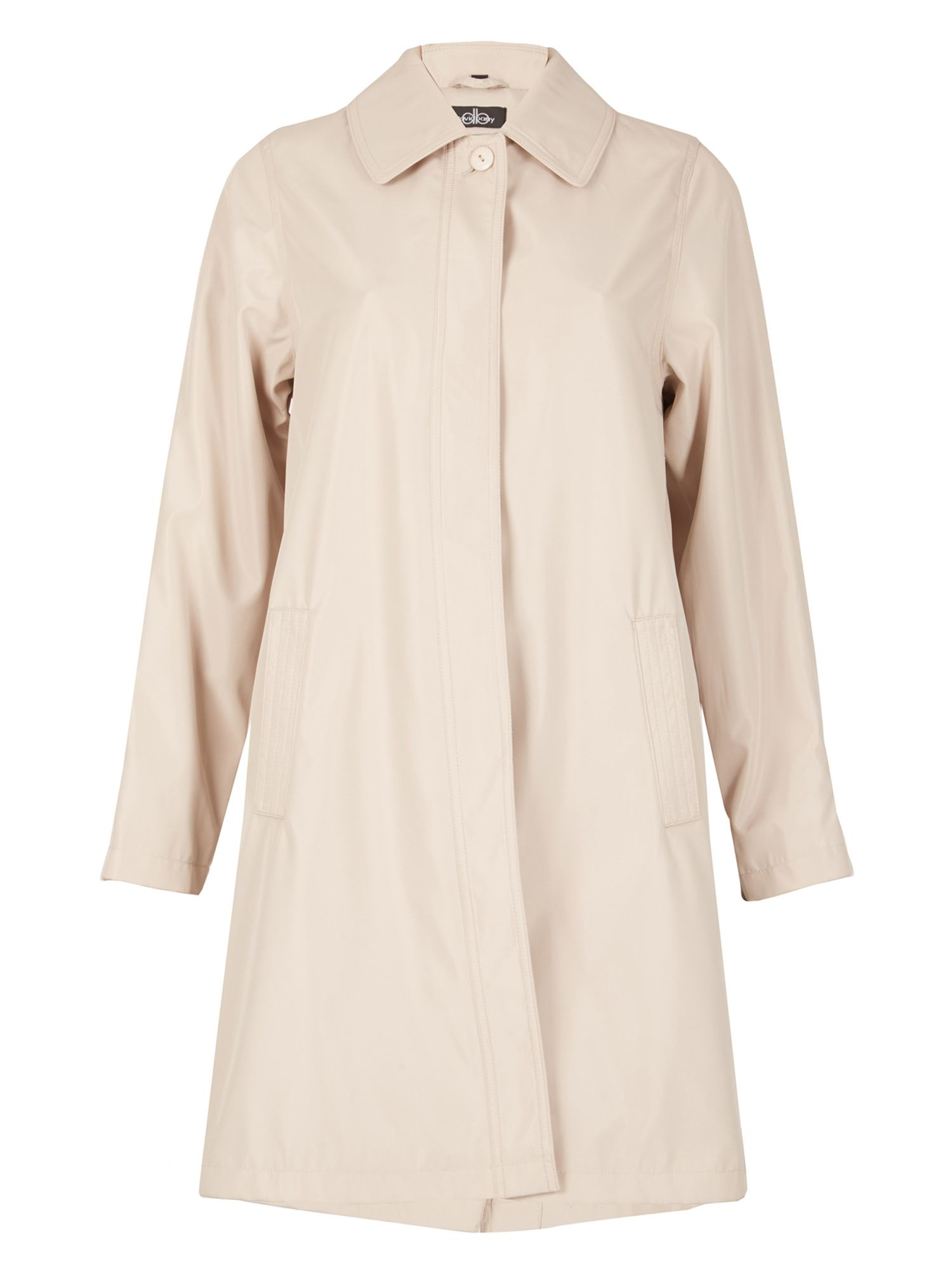 David Barry Ladies Raincoat, Stone