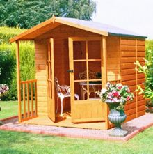 Honeywood Garden Buildings Alnwick summerhouse 7 x 7