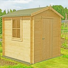 Honeywood Garden Buildings Danbury 19mm log cabin 9 x 9