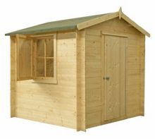 Honeywood Garden Buildings Camelot 19mm log cabin 8 x 8