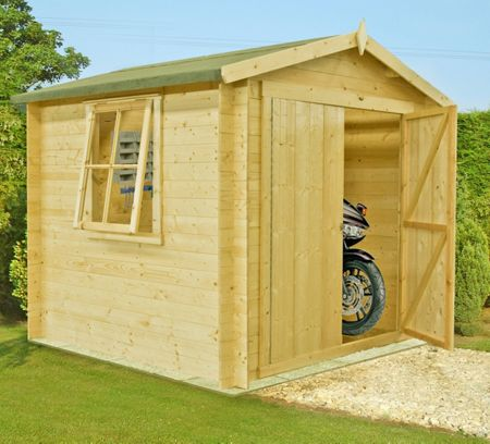 Honeywood Garden Buildings Bradley 19mm log cabin 7 x 7