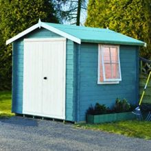Honeywood Garden Buildings Bradley 19mm log cabin 8 x 8