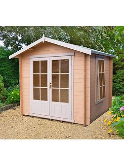 Barnsdale 19mm log cabin 7 x 7