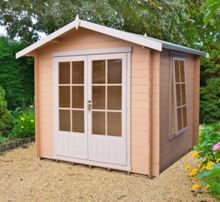Honeywood Garden Buildings Barnsdale 19mm log cabin 9 x 9