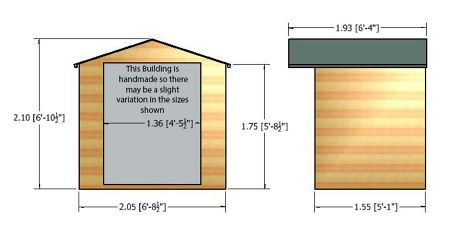 Honeywood Garden Buildings Avance summerhouse 7 x 5
