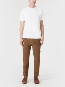 Slim-Leg Relaxed Fit Trousers