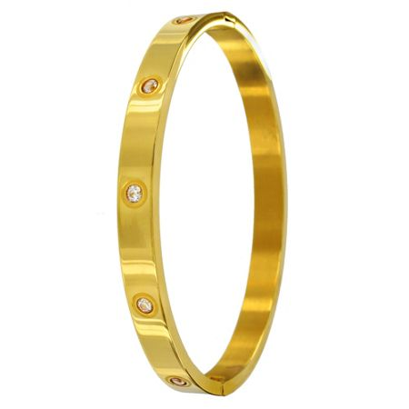 Infinity & Co Aimee Bangle Gold