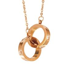 Infinity & Co Aimee Pendant Rose