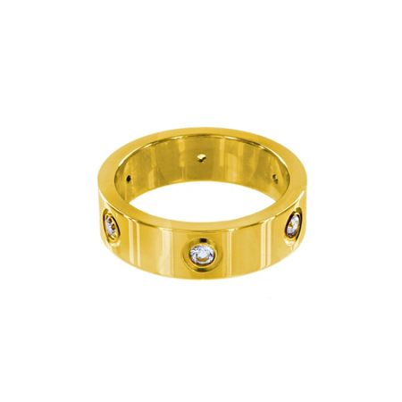 Infinity & Co Aimee Ring Gold