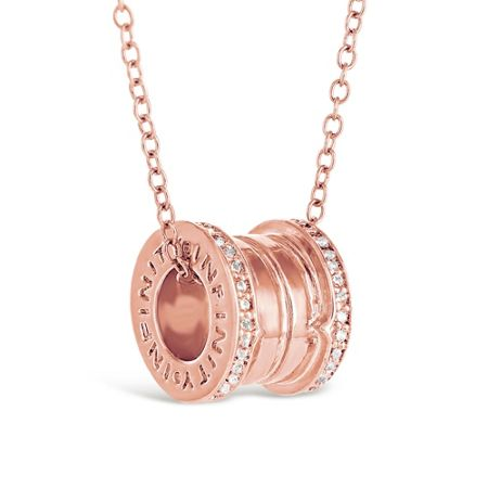 Infinity & Co Emilie Pendant Rose