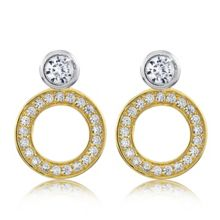 Infinity & Co Charlotte Earrings Gold