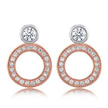 Infinity & Co Charlotte Earrings Rose