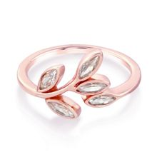 Infinity & Co Theresa Branch Ring Rose Gold