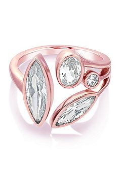 Theresa Multi Jewel Ring Rose Gold
