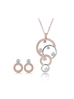 Charlotte Pendant and Earring Set