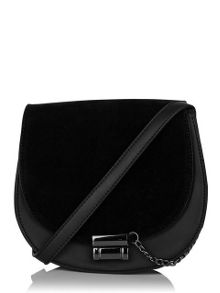 Skinnydip Black saddle bag