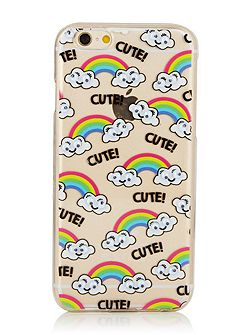 Iphone 6 googly rainbow case