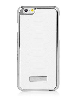 Iphone 6 White Croc Case