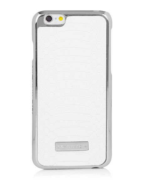 Skinnydip Iphone 6 White Croc Case