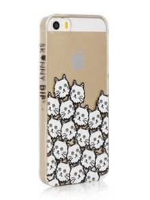 Skinnydip Iphone 5 Cat Face Case