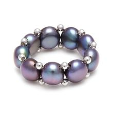 Kyoto Pearl Stretch ring
