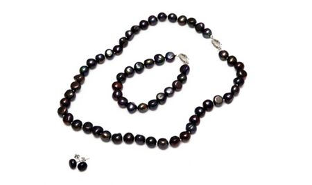 Kyoto Pearl Five row twisted baroque pearl necklace