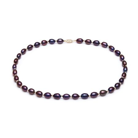 Kyoto Pearl Black Freshwater Pearls Necklace
